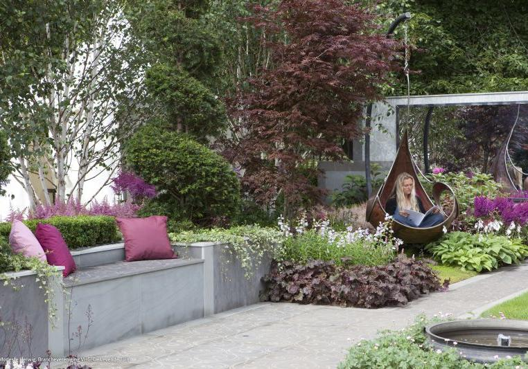 Tuinen Engeland   Gardens England, Enchanting Escape, Des.: Niki Palmer, Hampton Court Flower Show2009